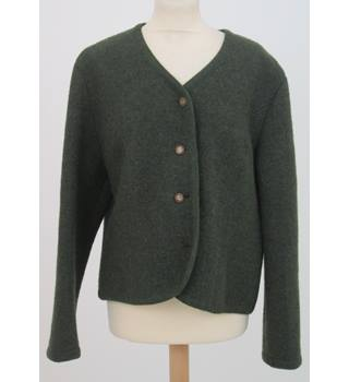 Marion Donaldson - Size: 18 - Green - Short tailored jacket