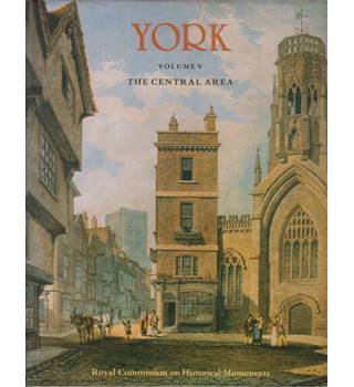 An inventory of the historical monuments in the City of York