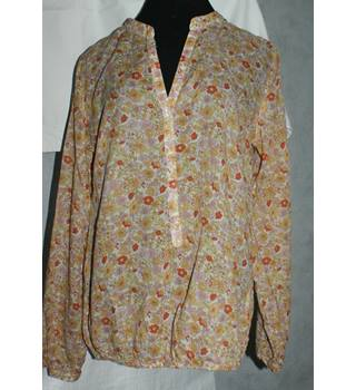 Emily Van den Bergh - Size 38 - Pastels - Blouse Emily Van den Bergh - Size: 14 - Multi-coloured - Long sleeved shirt