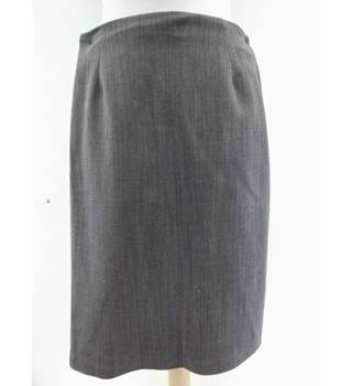Hobbs - Size: 10 - Brown - Pencil skirt