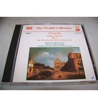 Antonio Vivaldi  ‎– Cello Concerti Vol.1 - RV 398,399,404,406,410,412 & 419