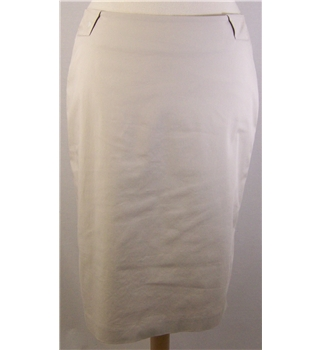 Per Una Size: 14 Beige Knee length skirt