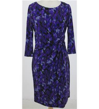 Precis Petite size: M, purple patterned calf length dress
