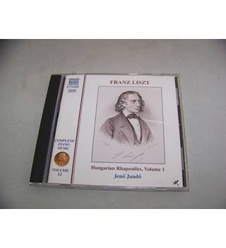 Franz Liszt  ‎– Complete Piano Music  Volume 12: Hungarian Rhapsodies, Volume 1
