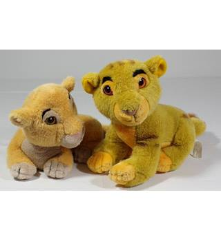 Disney The Lion King, Simba and Nala, Plush Toys Disney
