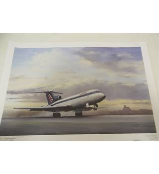 'On Time Departure' Signed Limited Edition Print 182/250 Tim Nolan