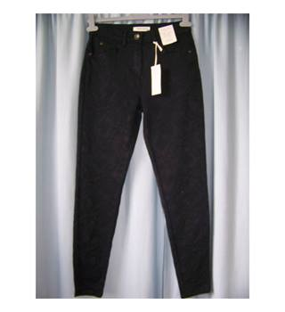 "NWOT M&S Indigo Collection Size 28"" waist Black Trousers"