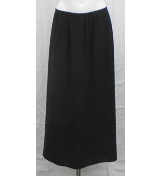 BNWOT M&S collection long black skirt Size 18
