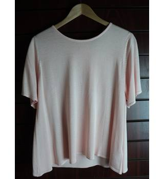 marks and spencer top M&S Marks & Spencer - Size: 16 - Pink - T-Shirt
