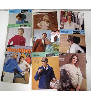 Sixteen Vintage 1960s Knitting Patterns