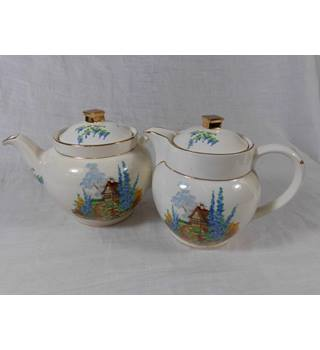 Vintage Teapot and Water Jug Falcon Ware
