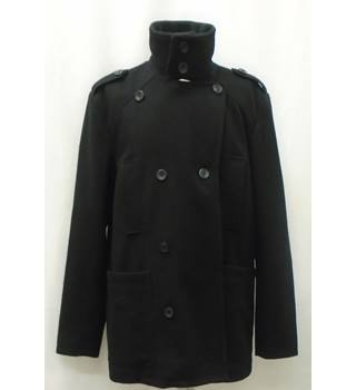 AMERICAN RAG - Size: L - Black - Jacket - Wool