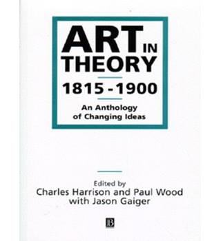 Art in theory, 1815-1900