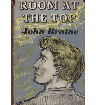 Room at the top  1st edition 7th impression  Dustjacket by John Minton