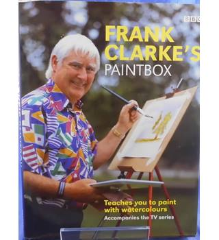 Frank Clarke's paintbox