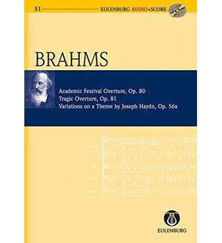Brahms: Academic Festival Ouverture, Tragic Ouverture, Variations on a Theme by Joseph Haydn
