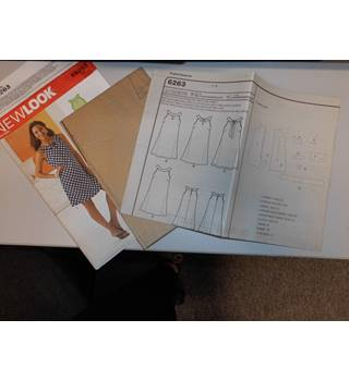 New Look dress sewing pattern K6263