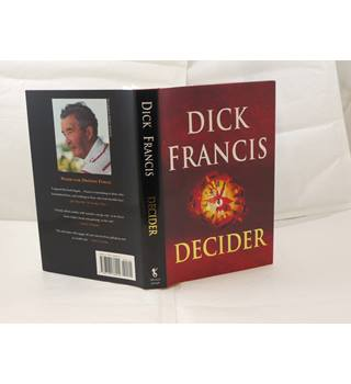Decider by Dick Francis signed 1st edition 1993 Michael Joseph as new in unclipped d/j