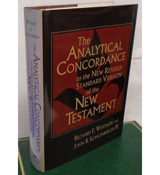 THE ANALYTICAL CONORDANCE to the new revised standard version of the New Testament  by R.E. Whitaker and J.R. Kohlenberger III