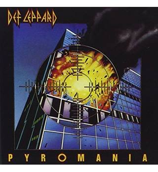 DEF LEPPARD - PYROMANIA - 1983 - ORIGINAL CD