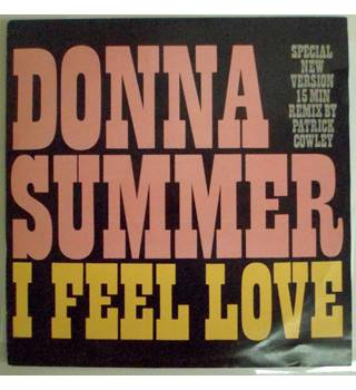 "Donna Summer 12"" Single - I Feel Love (Patrick Cowley Mega Mix)"