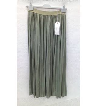 DIXIE SKIRT - Size: S - Green - Long skirt