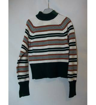 Boy's Vintage Knitted Jumper by Courtelle- Age 5-6 StMichaels - Size: Age 5-6 - Multi-coloured