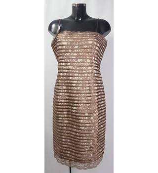 Phase Eight - Size: 14 - Mocha - Cocktail dress