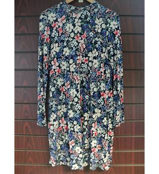 M&S Marks & Spencer - Size: 12 - Multi-coloured - Knee length dress