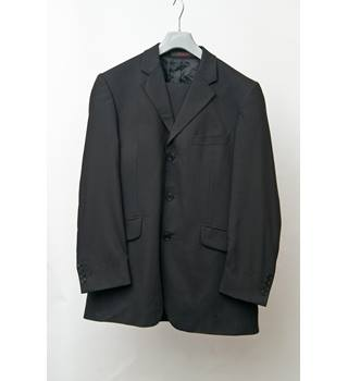 Jeff Banks - Size: 40chest 32 waist - Black - Single breasted suit