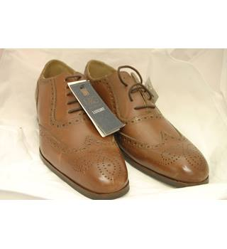M&S Marks & Spencer - Size: 6.5 - Brown - Lace-ups