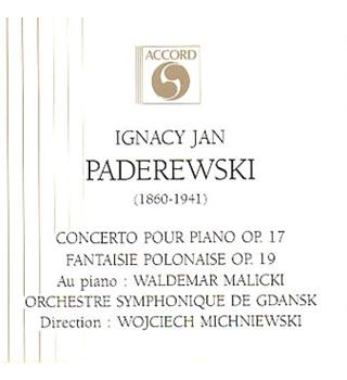 Paderewski: Polish Fantasia on original themes Op19; Symphony in B Minor Polonia Orchestre Symphonique de Gdansk