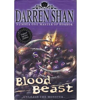 Blood Beast - Darren Shan - Signed 1st Edition