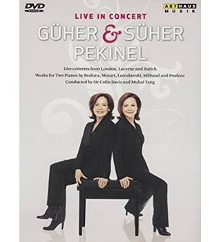 Guher & Suher Pekinel: Live (Works For 2 Pianos) Non-classified