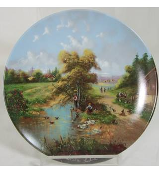 Vintage Seltmann Porcelain - No D7005 - The Anglers Pleasure - Plate
