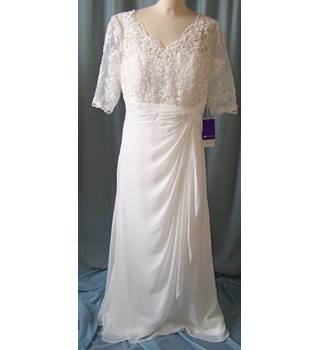 JJs House - Size: L - Cream / ivory - Wedding dress