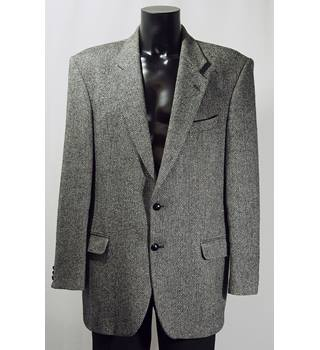 "Marks and Spencer wool jacket, long, 42"" chest, grey M&S Marks & Spencer - Size: L - Grey"