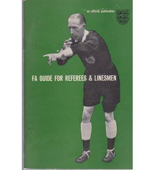 FA Guide for Referees & Linesmen