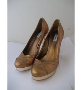 Dune - Size: 6 - Copper Metallic - Heeled shoes