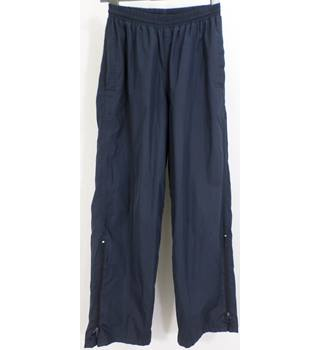 Peter Storm - Size: 14 - Navy Blue - lined waterproof trousers