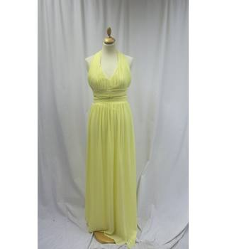 TFNC - Size: S - Yellow - Halter-neck dress