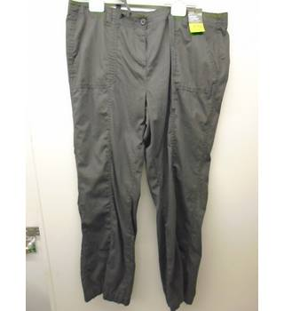 M&S Marks & Spencer - Size: 20 - Grey - Cargo pants L4