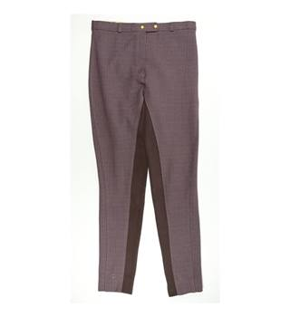 "Henry Hall - Size: 30"" waist Purple Trousers"