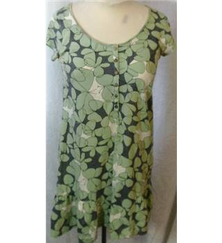White Stuff - 10 - Green - Floral Dress