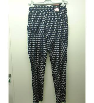 M&S Marks & Spencer - Size: 18 Long - Navy - Lounge Pants L4