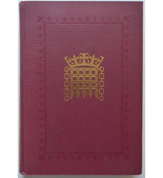 House of Lords Official Report - first volume of session 1991-92
