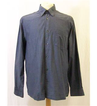 Hugo Boss - Size: L - Grey - Long sleeved cotton shirt