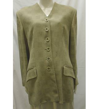 Jaeger - Size: L - Beige - Smart jacket / coat