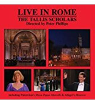 The Tallis Scholars ‎– Live In Rome CD