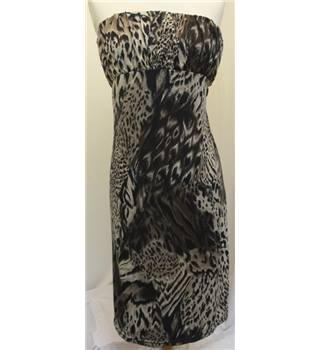 Boteli - Size: M - Brown Animal Print Dress